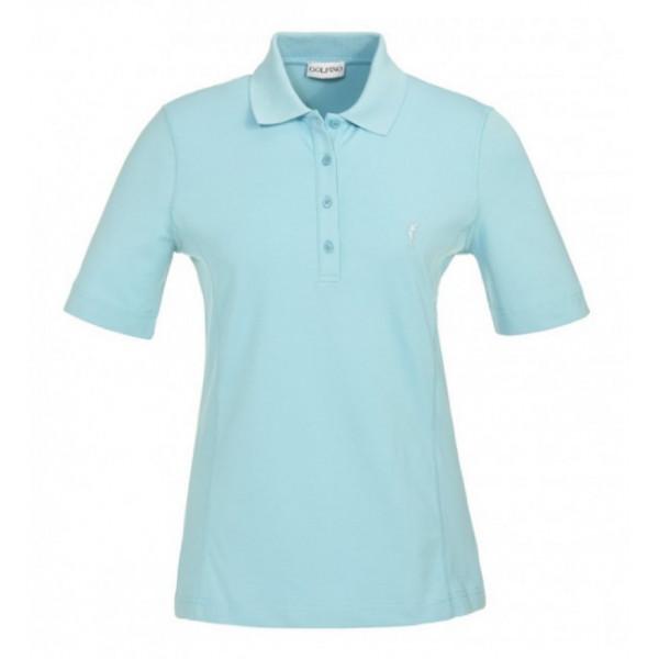 Поло (жен) Golfino'17  8239022 (533) голубой