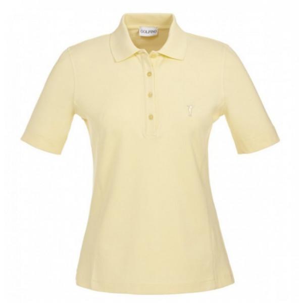 Поло (жен) Golfino'17  8239022 (206) желтый