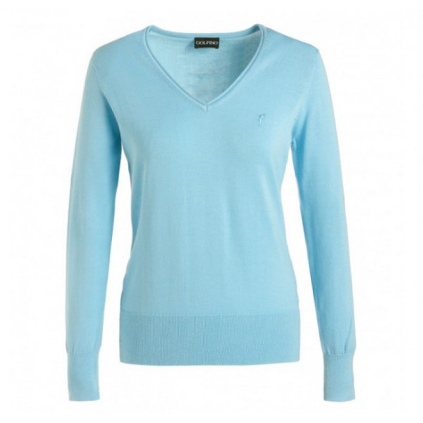 Джемпер (жен) Golfino'17  8219122 (533) голубой