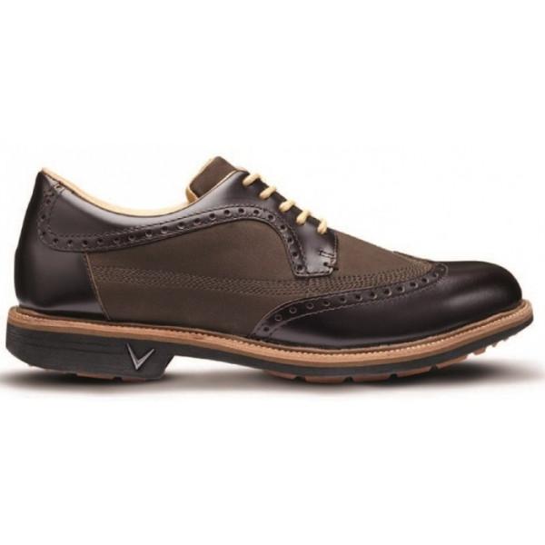 Ботинки (муж) Callaway'17  DelMar Brogue (коричневый) M558-04