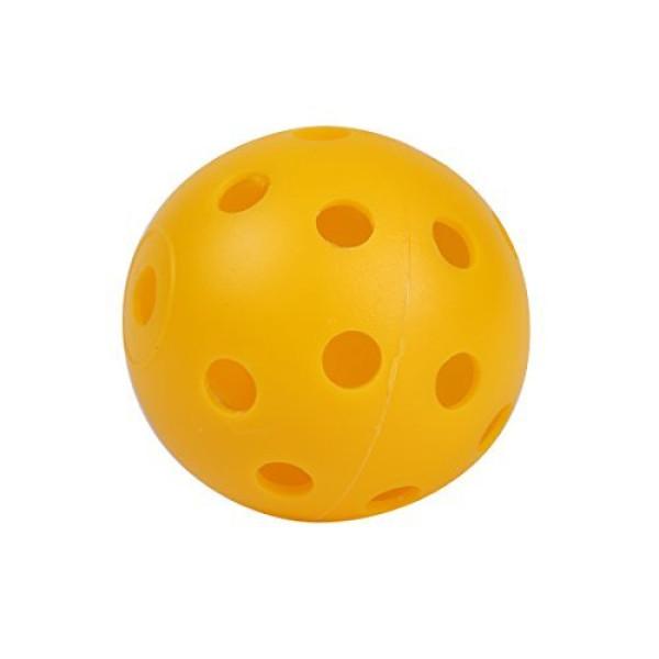Мячи (трен) АСМ'17  Hollow пластик/yellow (12шт/уп) 0000052