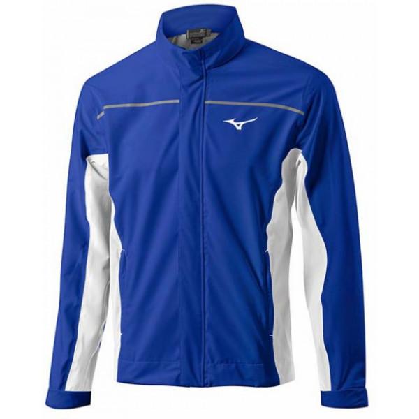 Дожд. куртка (муж) Mizuno'17  52GE6505 (синий/белый)