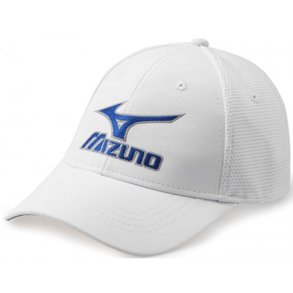 Бейсболка Mizuno'17  Tour Fitted Cap (White)